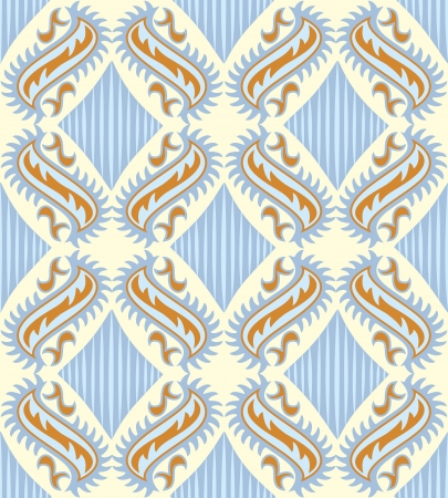 stylistic: Seamless paisley pattern Illustration