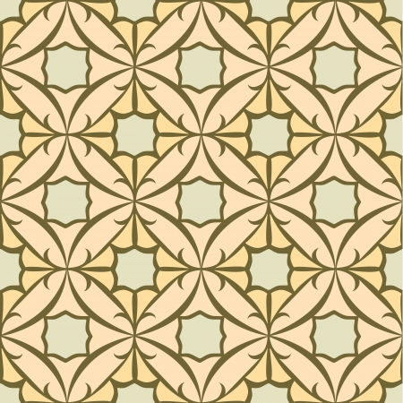 stylistic: Seamless Tile Pattern, Oriental Style  Repeating and Scalable Illustration