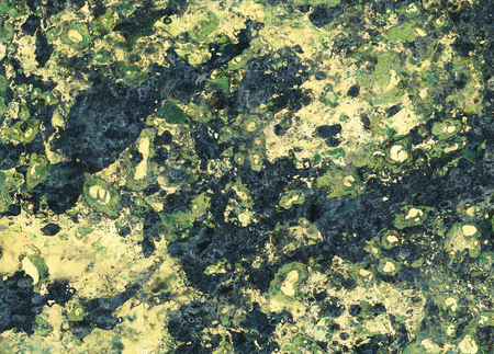 craft on marble: Marbled paper background in dark green colors