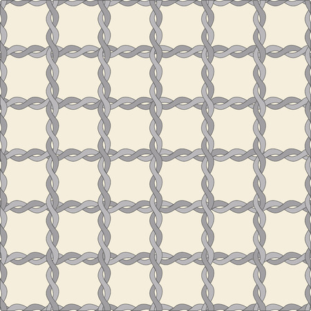 squiggly: seamless twisted rope pattern