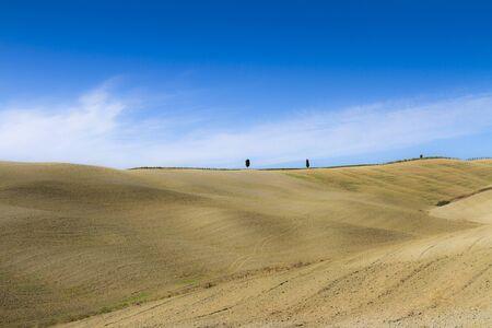 Paesaggio di campagna in Toscana