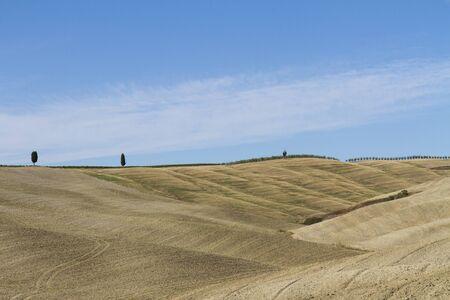 Paesaggio di campagna in Toscana Foto de archivo