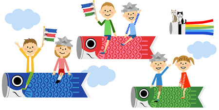 windsock: Carp streamer, Childrens Day