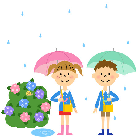 Kindergarteners our rainy day