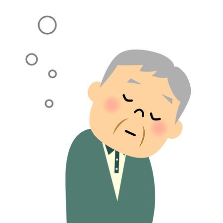 dozing: Senior citizen, Doze off