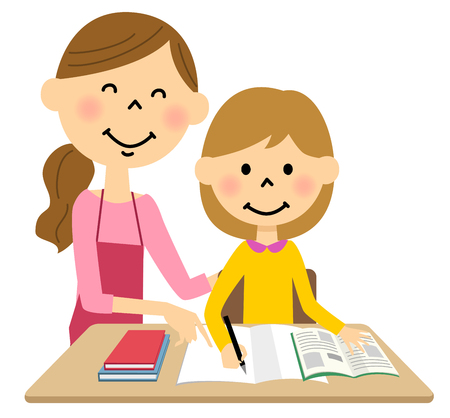 Kinder, um zu studieren