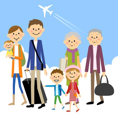 three generations: Family Travel