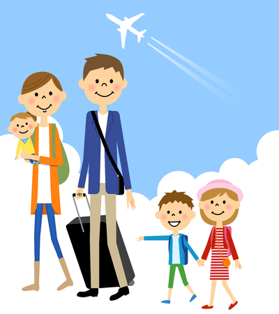 people travelling: Family Travel