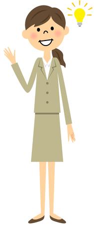 Flash suit women Illustration