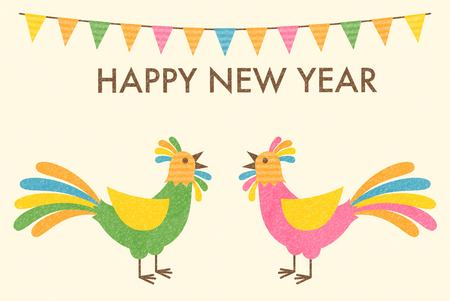 new years: New Years cards