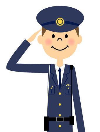 crime prevention: Police officer