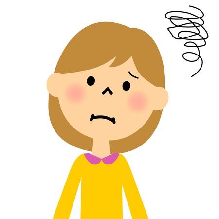 girl: Girl trouble Illustration