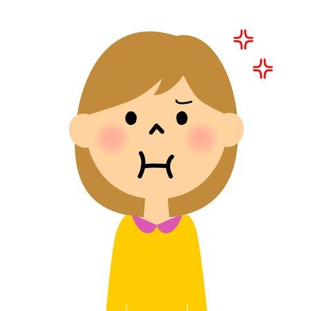 girl: Angry girl