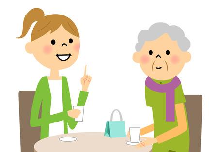 meet up: Enjoy tea time with a young senior