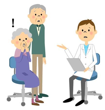 sentenced: Elderly patients Illustration
