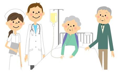 For the elderly in hospital