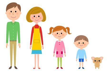 Segunda generación de gran familia