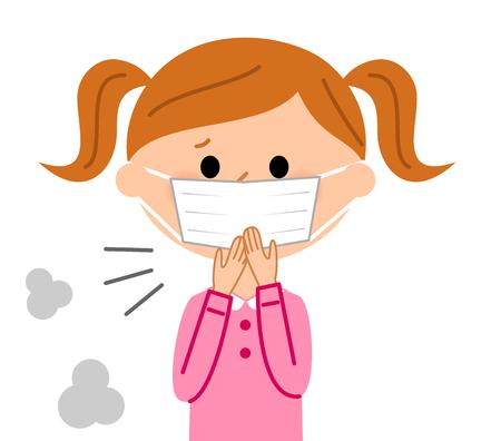 escuela infantil: La chica que tose