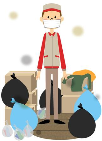ゴミ レジデンスを洗う人