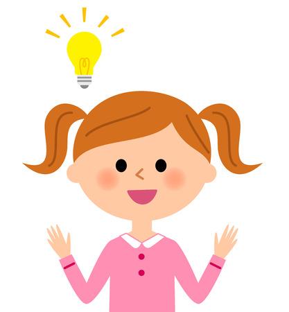 illustrate i: Inspiration girl