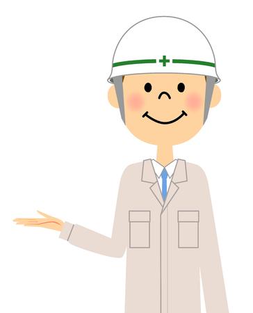 first house: Site supervisor, Description Illustration