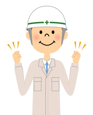 first house: Site supervisor, Victory Pause Illustration