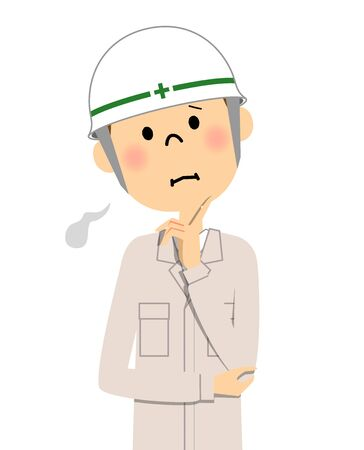 Site supervisor, Sigh Illustration