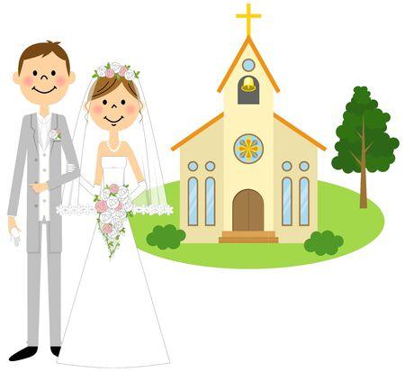bride and groom, wedding ceremony
