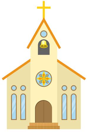 church  イラスト・ベクター素材
