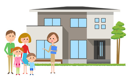Family and real estate agent