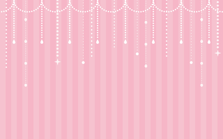 material: Girlish background material