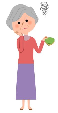 expenditure: Elderly women, Im broke