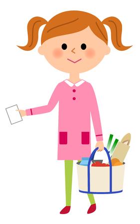 go shopping: Girls go shopping