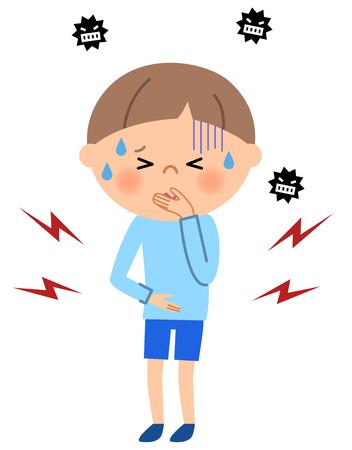 slight: Young boy, Abdominal pain