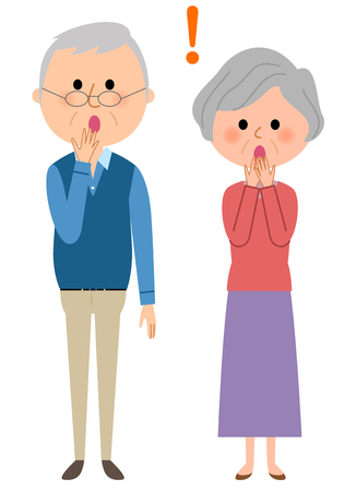 A surprising elderly couple