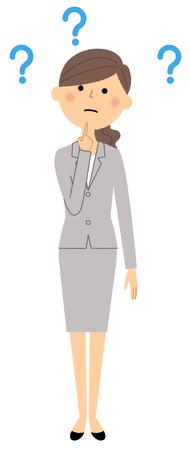 Businesswoman, Question