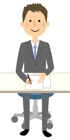 Businessman, Agreement