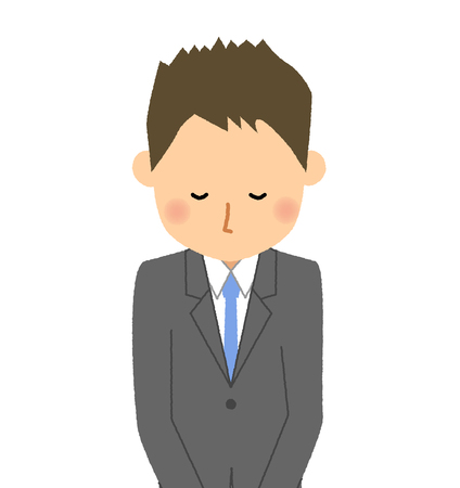 Businessman, Bow Stock Illustratie