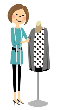 designer: Woman who coordinate fashion