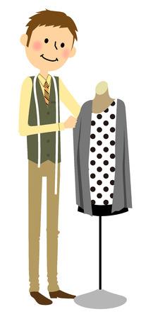 designer: Man who coordinate fashion