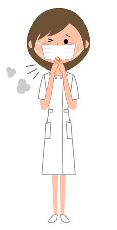 Nurse, Physical condition badness