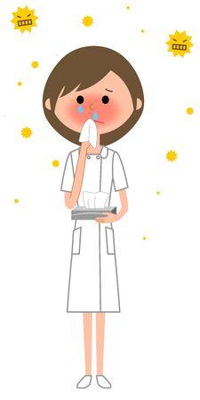Nurse, Hay fever