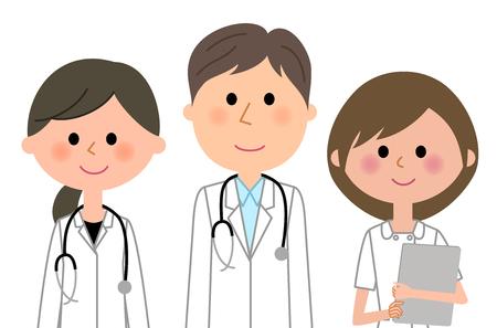 Equipo de personal médico Foto de archivo - 92535535