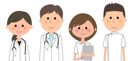 Équipe du personnel médical