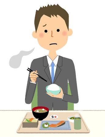 Businessman, Anorexia