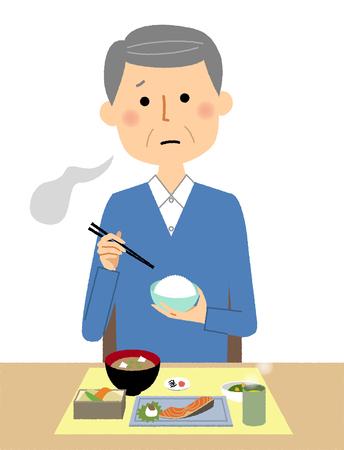 Anorexic elderly male