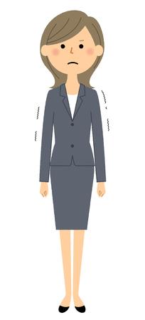 Businesswoman, Regrettable Illusztráció