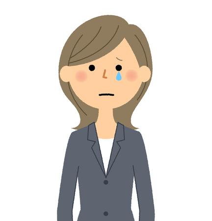 Businesswoman, Cry