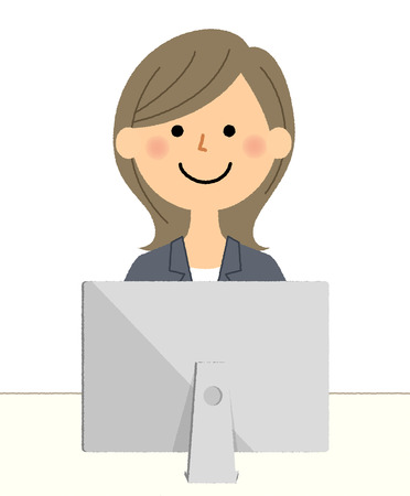Businesswoman, PC Standard-Bild - 101684011