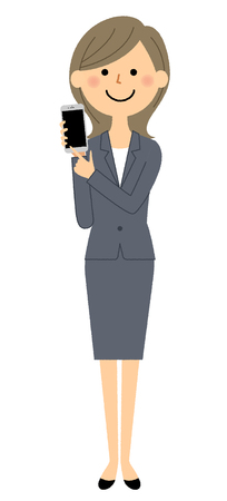 Businesswoman, Phone